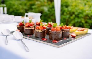 hiring an outside catering company